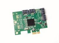 IO Crest 4 Port SATA III PCIe x1 with Marvell 9215